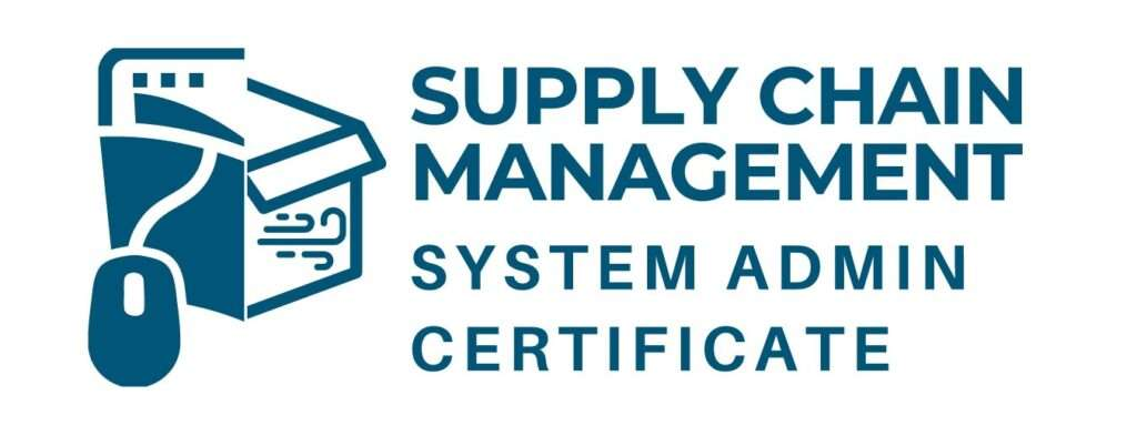 Supply Chain Management System Admin Certificate